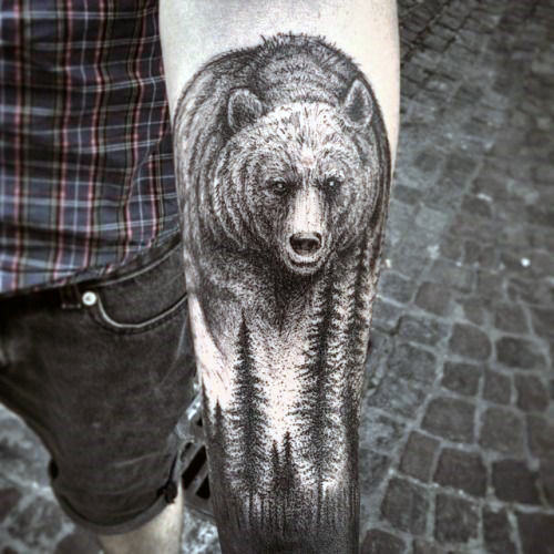 Outstanding Forearm Tattoo Design