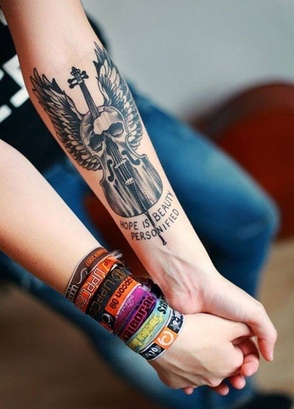 Outstanding Forearm Tattoo Designs