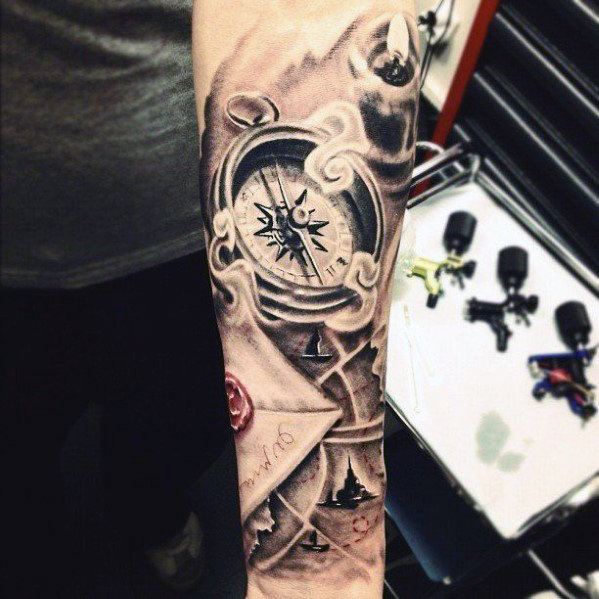 Outstanding Forearm Tattoo