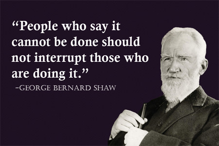 Outstanding George Bernard Shaw Quotations