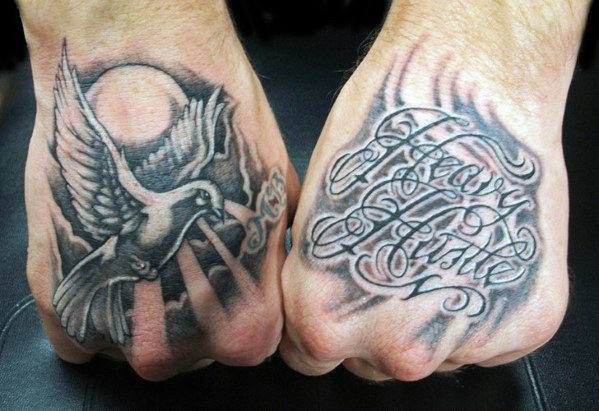 Outstanding Hand Tattoo