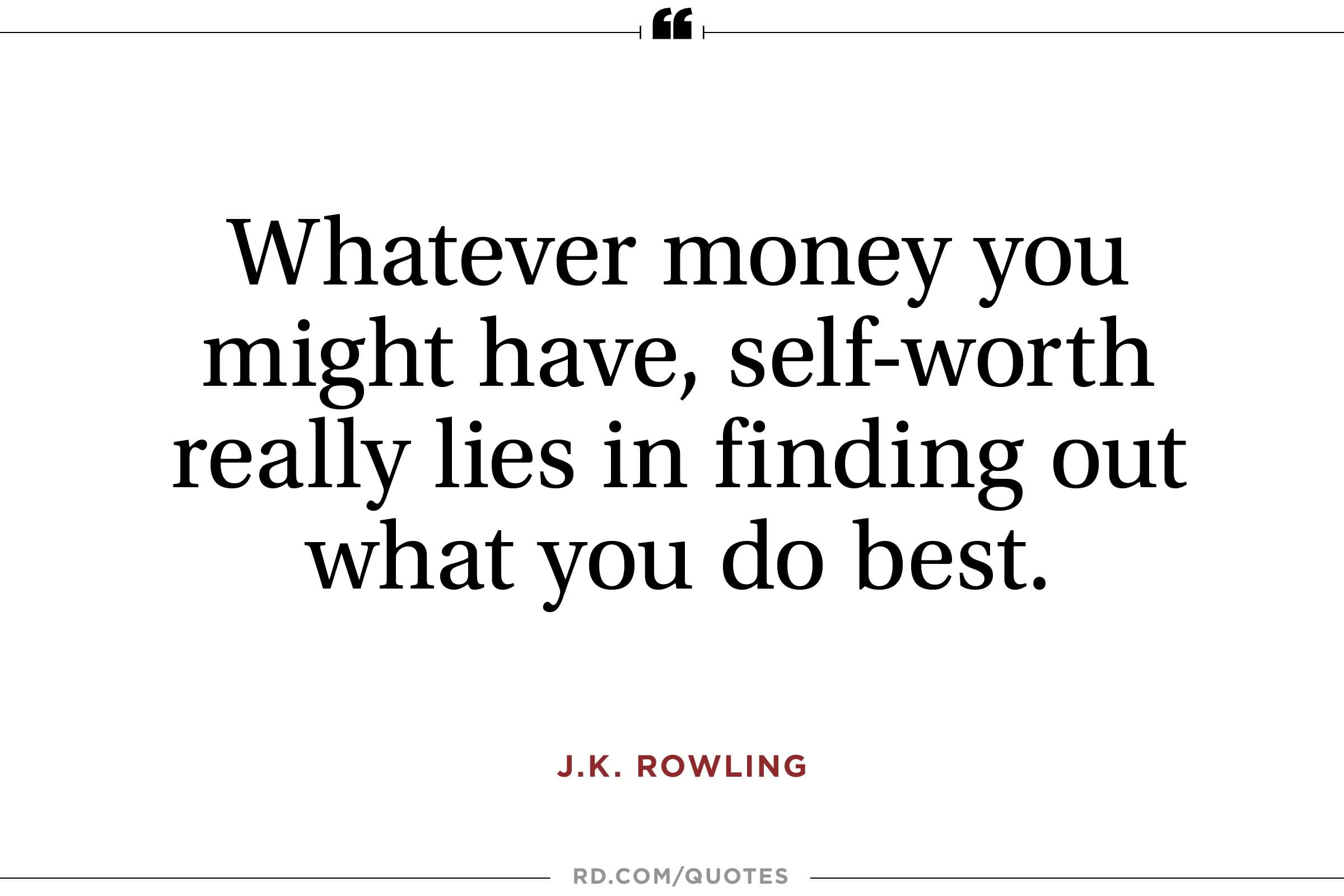 Outstanding J K Rowling Quotes