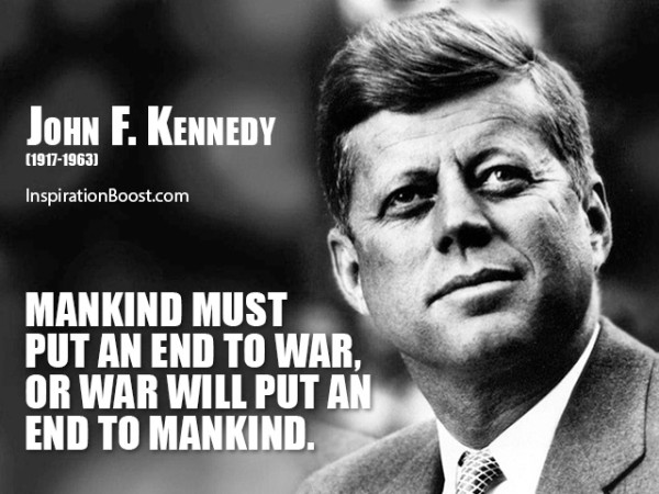 Outstanding John F. Kennedy Quotes