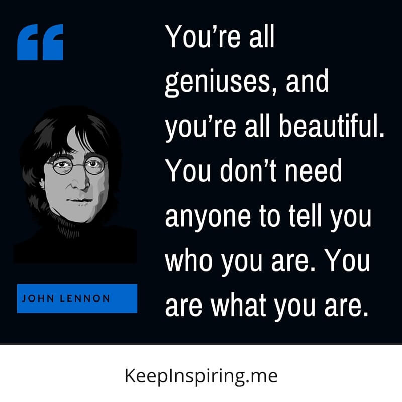 Outstanding John Lennon Sayings