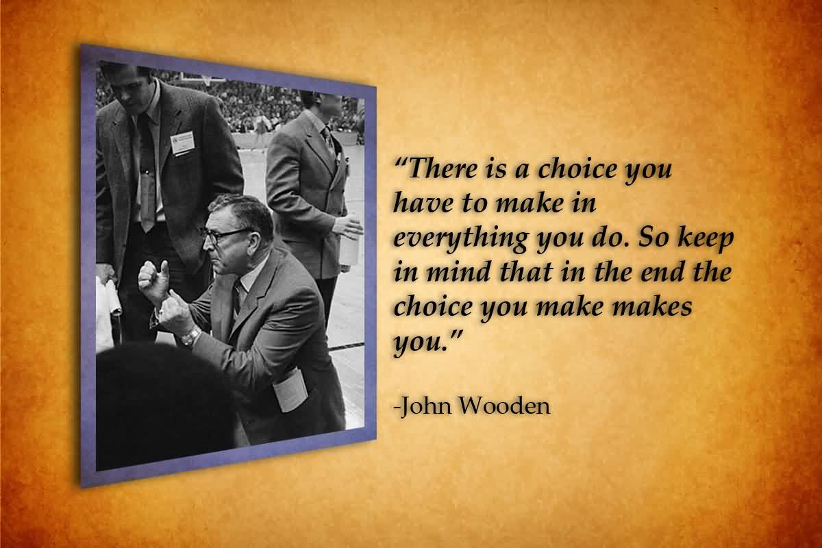 Outstanding John Wooden Quotes