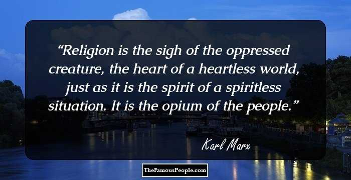 Outstanding Karl Marx Quotation