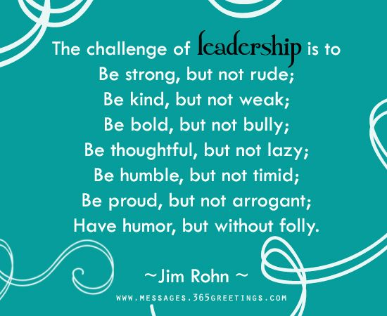 Outstanding Leader Quotations