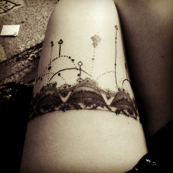 Outstanding Leg Tattoo Designs