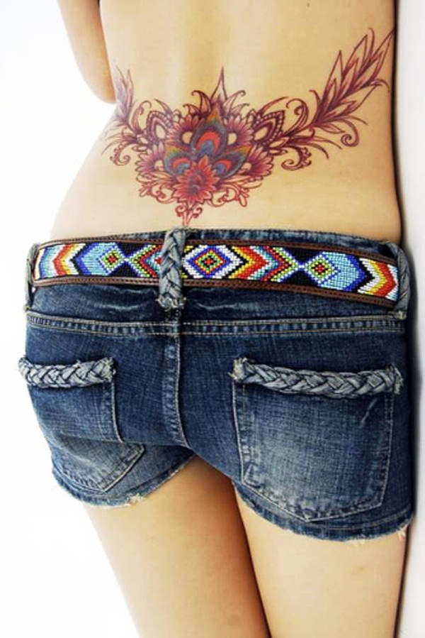 Outstanding Lower Back Tattoo
