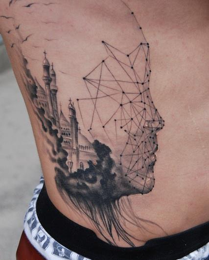 Outstanding Side Tattoos Designs