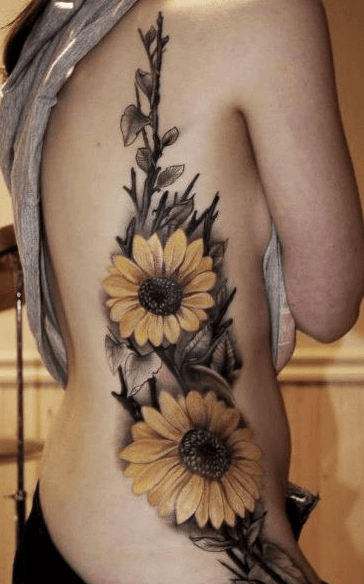 Outstanding Side Tattoos