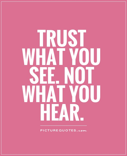 Outstanding Trust Quotes