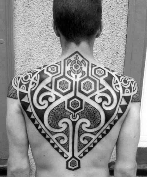 Outstanding Upper Back Tattoo Designs