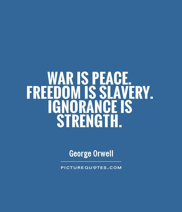 Outstaniding George Orwell Quotation