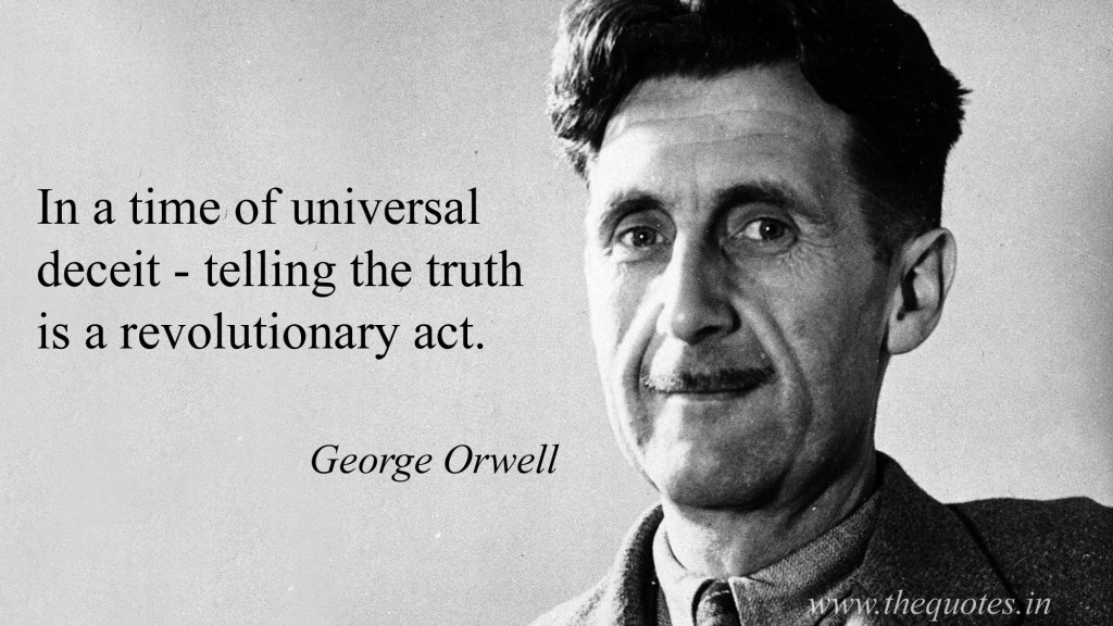 Outstaniding George Orwell Quotes