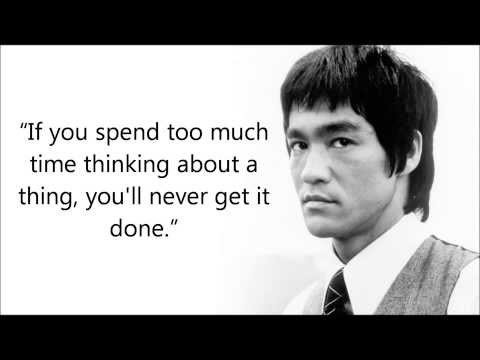 Short Bruce Lee Quotation and Sayings