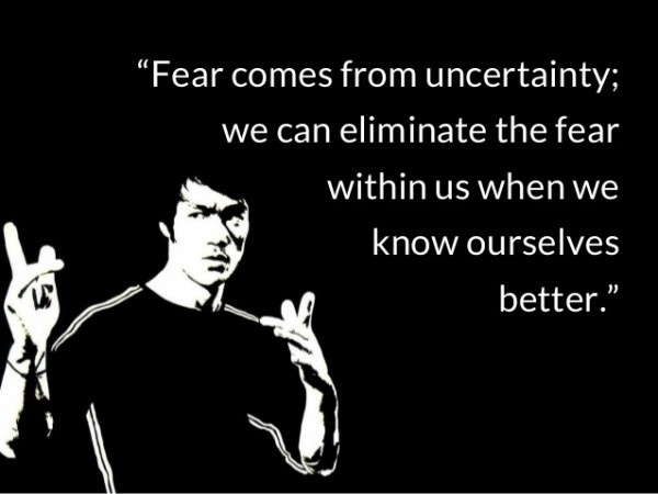 Short Bruce Lee Quotations and Sayings