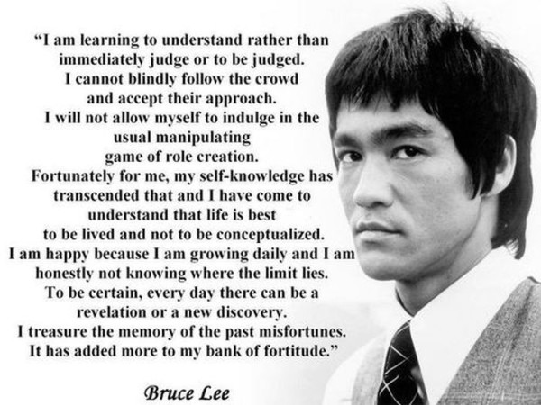 Short Bruce Lee Quotes