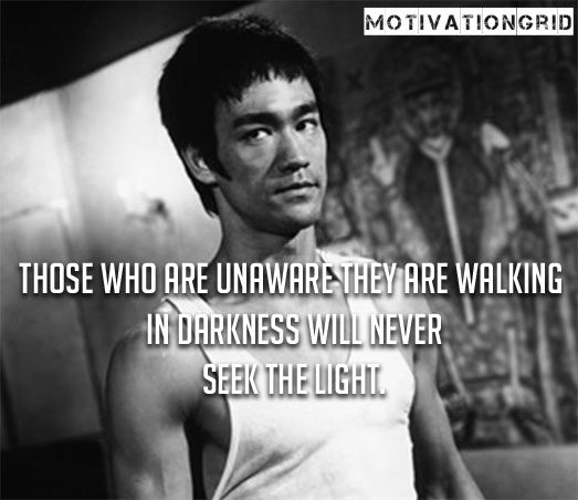 Short Bruce Lee Sayings