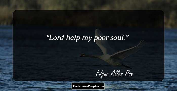 Short Edgar Allan Quotation and Sayings