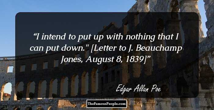 Short Edgar Allan Quotations