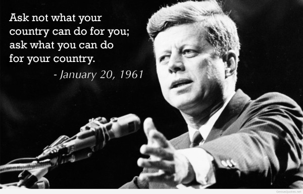 Short John F. Kennedy Quotes