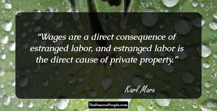 Short Karl Marx Quotations
