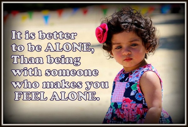 Stunning Alone Quotes