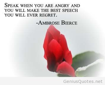 Stunning Anger Quotation