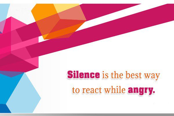 Stunning Anger Quotations