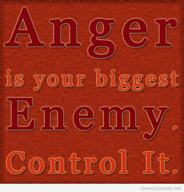 Stunning Anger Quotes