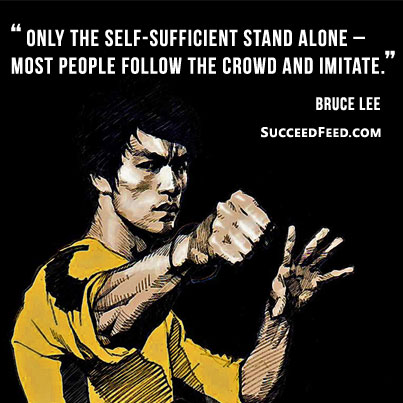 Stunning Bruce Lee Quotations