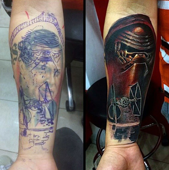 Stunning Cover Up Tattoos