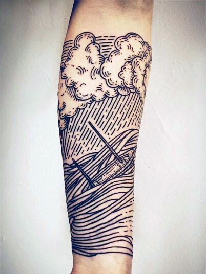 Stunning Forearm Tattoo Design