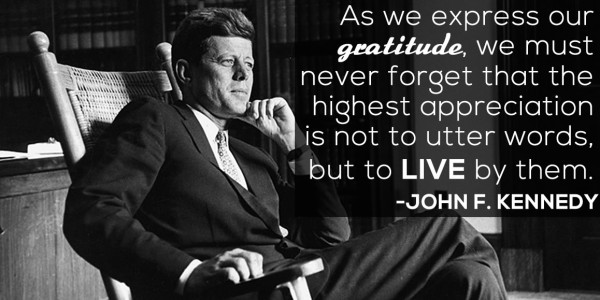 Stunning John F. Kennedy Quotes