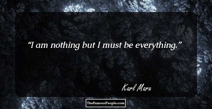 Stunning Karl Marx Quotations