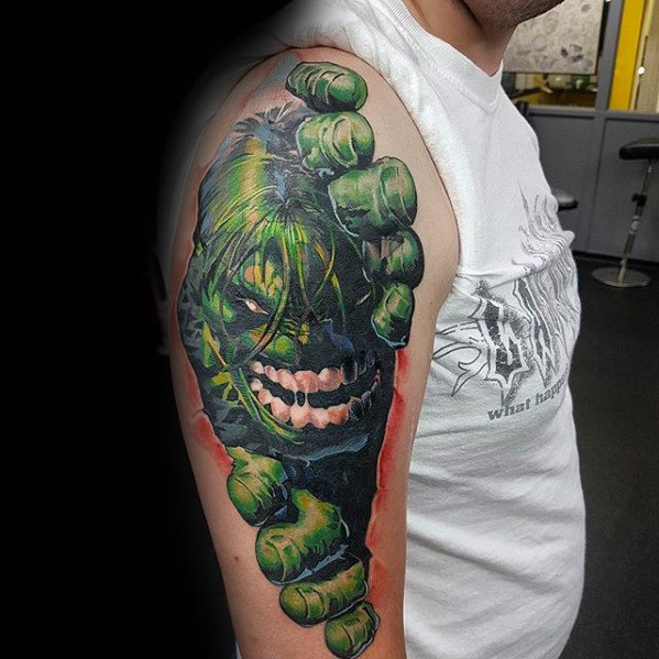 Terrific Comic Tattoo Designs