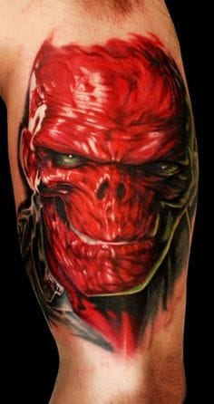 Terrific Comic Tattoos Design