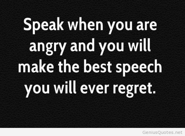 Wonderful Anger Quotes