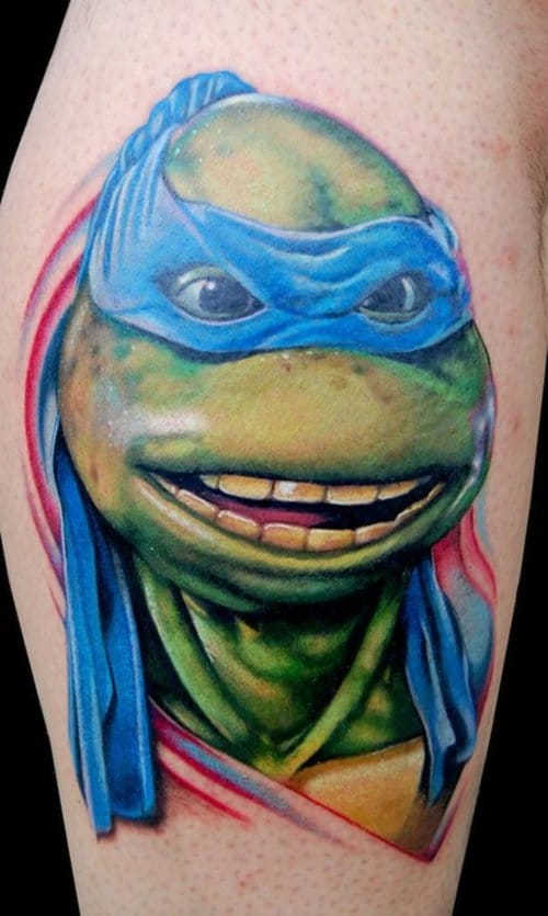 Wonderful Comic Tattoos Designs