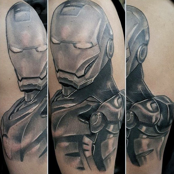 Wonderful Comic Tattoos