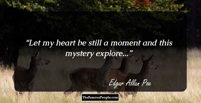 Wonderful Edgar Allan Quotations and Sayings