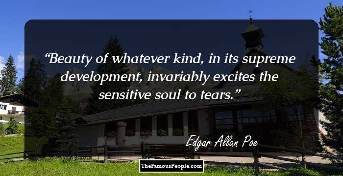 Wonderful Edgar Allan Sayings