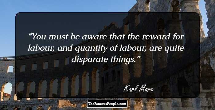 Wonderful Karl Marx Quotations