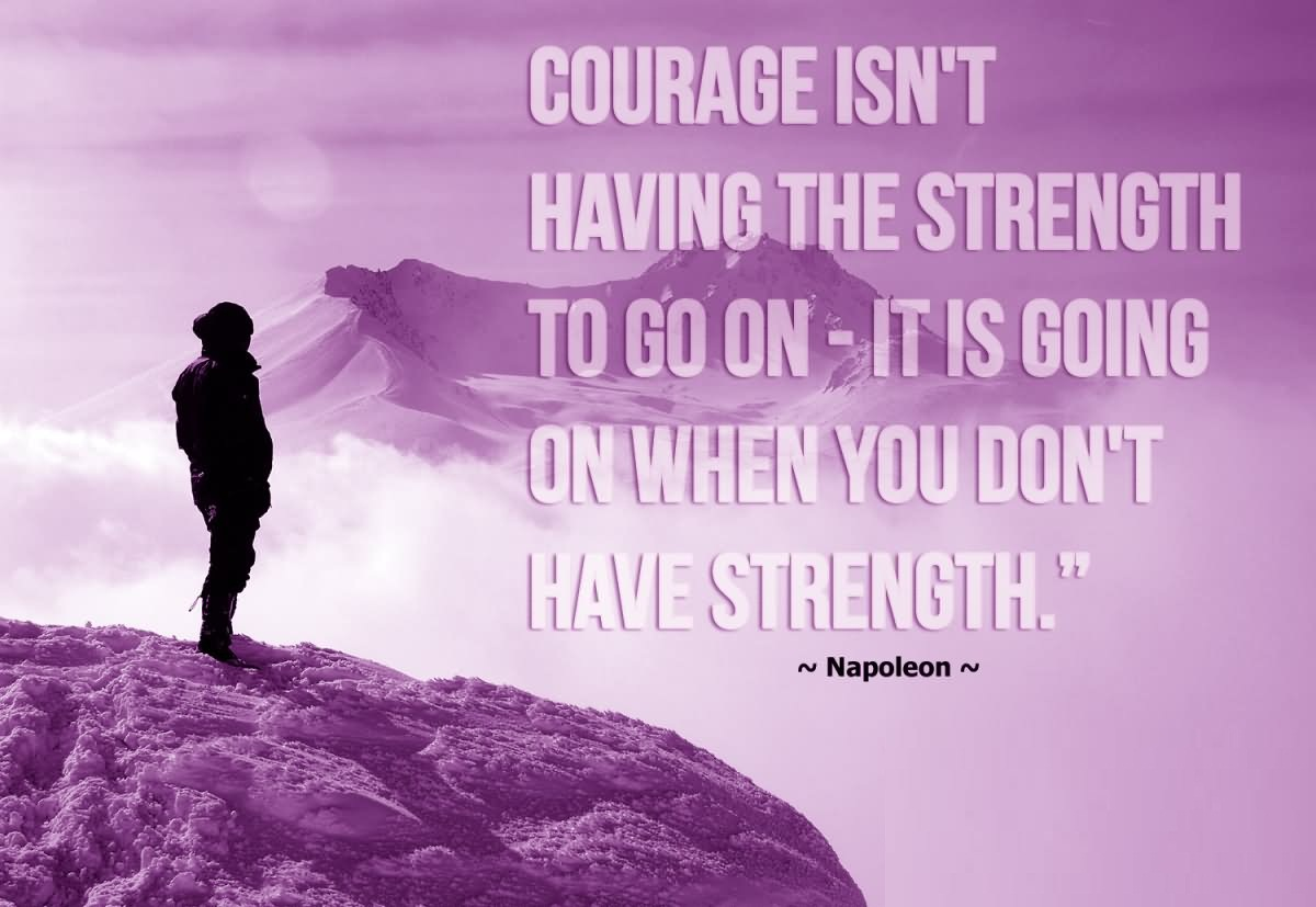 Amazing Courage Quotes