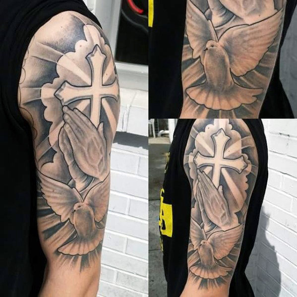 Amazing Cross Tattoo