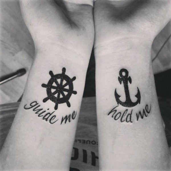 Attractive Couple Tattoos Designs