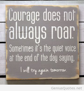 Attractive Courage Quotation