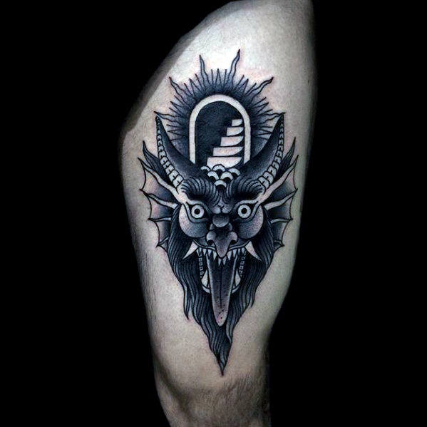 Attractive Devil Tattoos Design