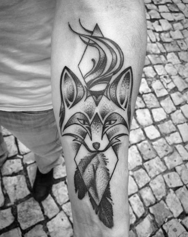 Attractive Dotwork Tattoo